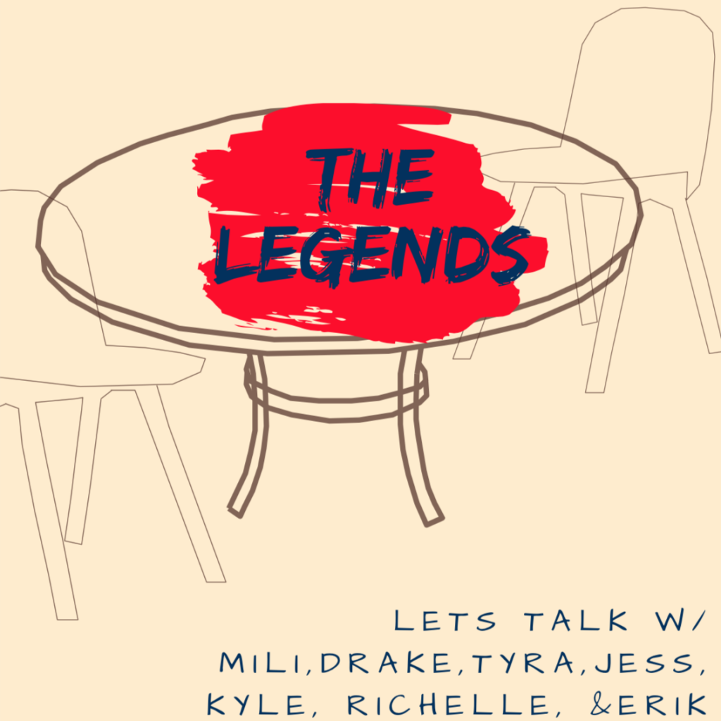 Pictured here is a promotional for The Legends Radio Show